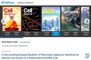 Cell Press journals - browse concept (view in new window)